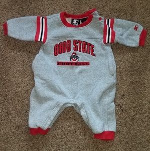 Starter one piece Ohio state sweatsuit